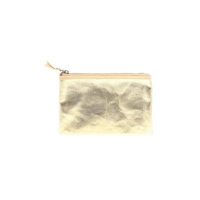 Makeup Bag: Gold Animal Print Ac...