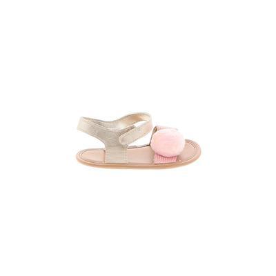 Trimfoot Sandals: Tan Solid Shoe...