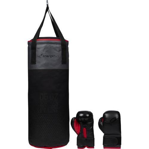 ENERGETICS Boxsack Box-Set Jr. FT, Größe - in BLACK/ GREY/ RED
