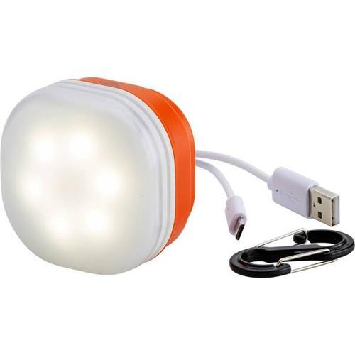 McKINLEY Camping-Lampe USB + Powerbank, Größe ONE SIZE in Weiß/Orange