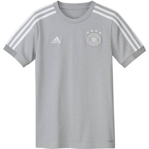 ADIDAS Kinder Fußballshirt, Größe 140 in Grau