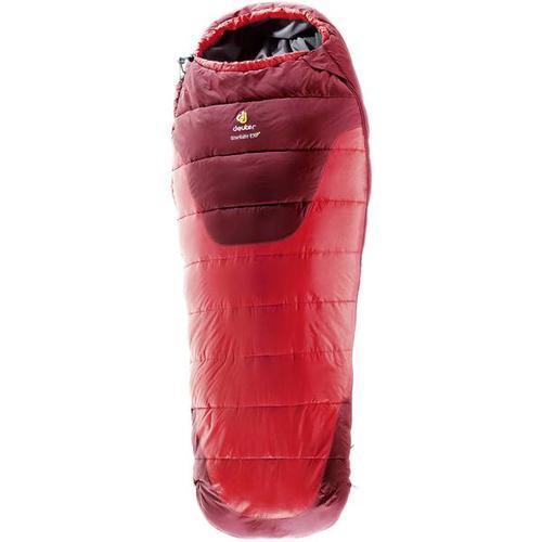 DEUTER verlängerbarer Kinder Schlafsack Starlight EXP, Größe L in Rot