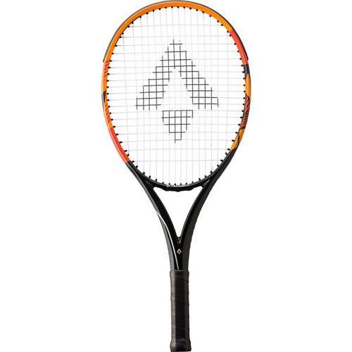 TECNOPRO Kinder Tennisschläger Tour 25, Größe 0 in Schwarz/Orange
