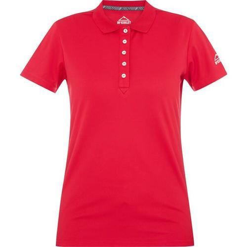 McKINLEY Damen Polo Mako, Größe 46 in Rot