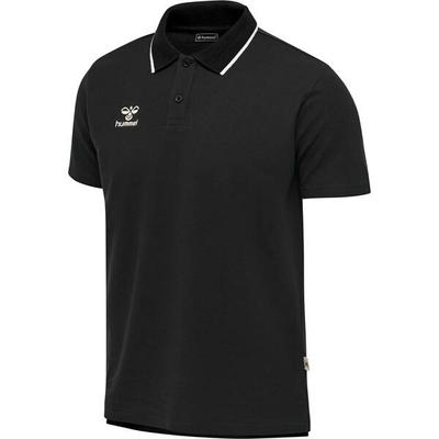 HUMMEL Fußball - Teamsport Textil - Poloshirts Move Poloshirt, Größe XXL in Schwarz