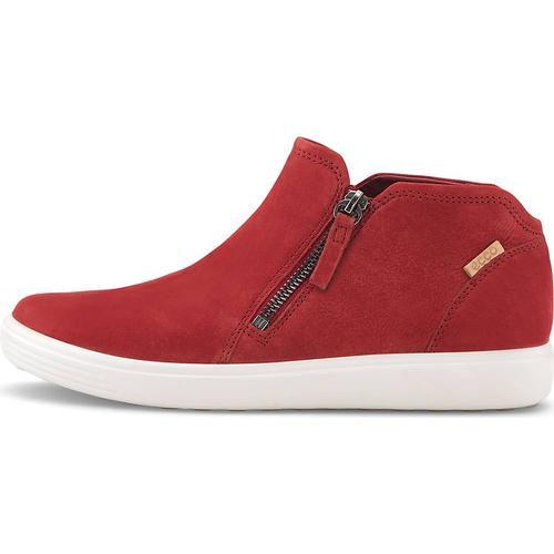 Ecco, Boots Soft 7 W in rot, Boots für Damen Gr. 42