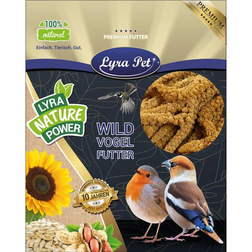 1 kg Lyra Pet® Kolbenhirse gelb