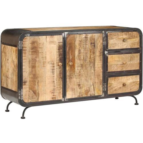 Sideboard 140 x 40 x 80 cm Mango-Massivholz