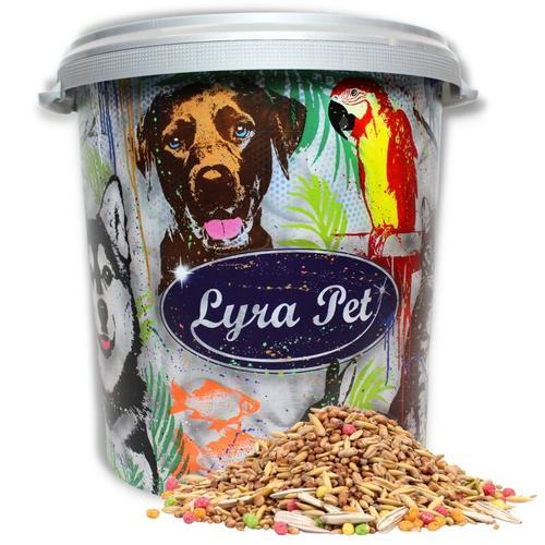 10 kg ® Streufutter HK Deutschland in 30 L Tonne - Lyra Pet