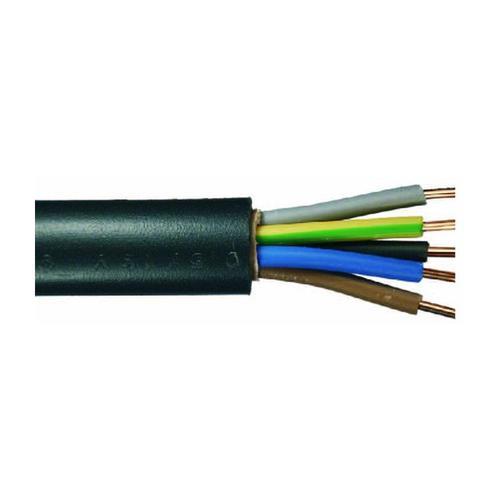Erdkabel NYY-J 5 x 1,5 - 50 Meter, schwarz