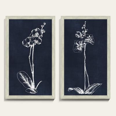 "White Orchid Art 40"" x 24"" - Ballard Designs"