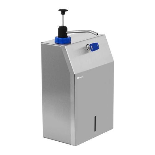 Merida Einbau Seifenspender - für 5 L Kanister - Edelstahl - inkl. 5 L Seife GSM050