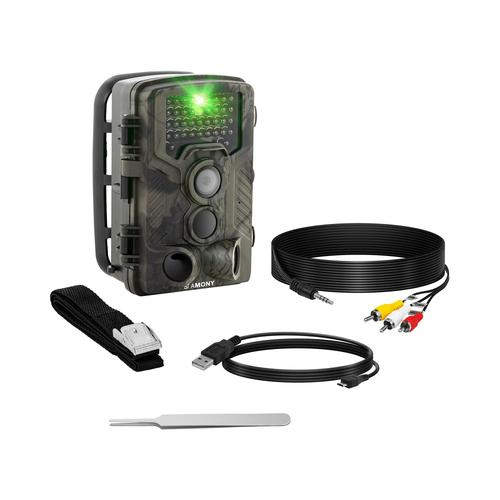 Stamony Wildkamera - 8 MP - Full HD - 42 IR-LEDs - 20 m - 0,3 s - LTE ST-5000LTE