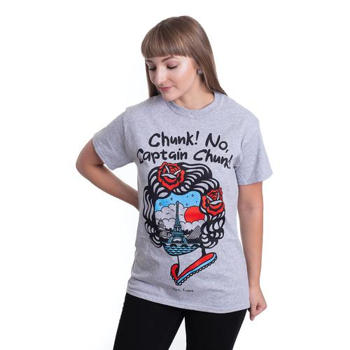 Chunk! No, Captain Chunk! - Paris, France Sportsgrey - - T-Shirts