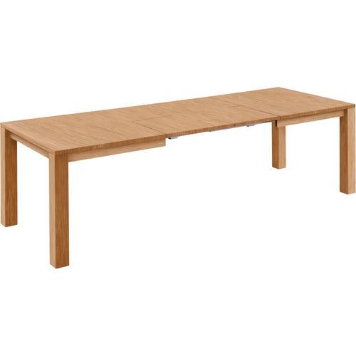 NIEHOFF SITZMÖBEL Kulissen-Esstisch Top Trends, Breite 140 cm braun Holz-Esstische Holztische Tische
