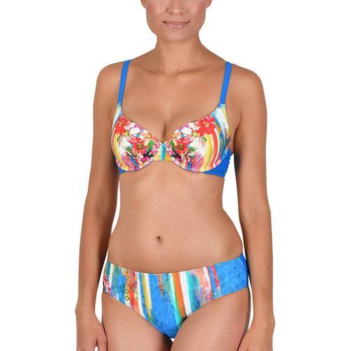 Schalen Bügel Bikini Naturana bleu-gold-pink