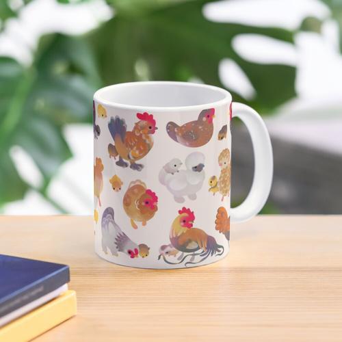 Chicken and Chick Mug
