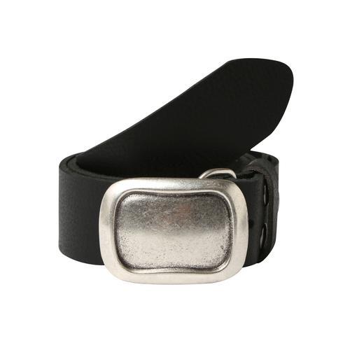 RETTUNGSRING by showroom 019° Koppelgürtel, Oberfläche mit leichter Narbung schwarz Damen Ledergürtel Gürtel Accessoires Koppelgürtel