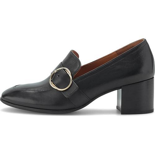 Paul Green, Trotteur-Pumps in schwarz, Slipper für Damen Gr. 39