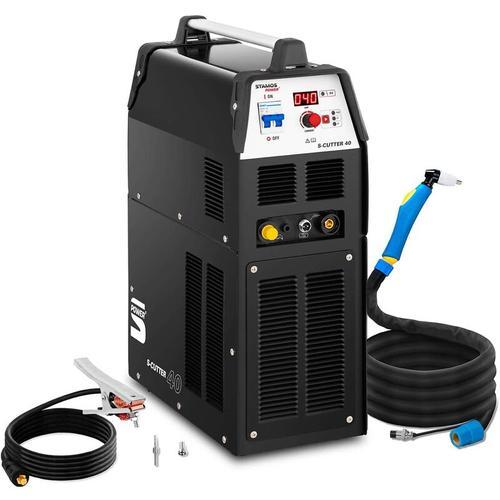Plasmaschneider Power Kompressor Digital Druckluft Plasmaschneiden 40 A Stamos