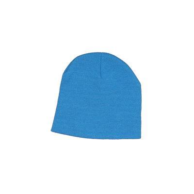 Beanie Hat: Blue Solid Accessories