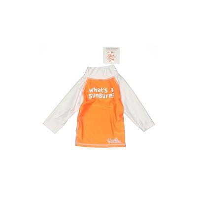 UV Skinz Rash Guard: Orange Solid Sporting & Activewear - Size 12