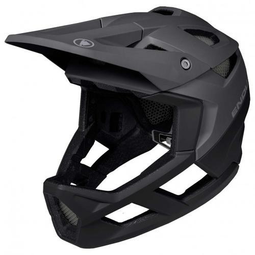 Endura - MT500 Full Face Helm - Fullfacehelm Gr 58-63 cm - L/XL schwarz
