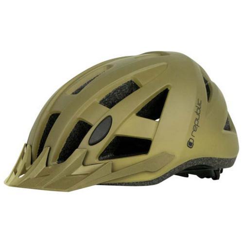 Republic - Bike Helmet R400 MTB - Radhelm Gr 54-58 cm oliv