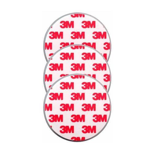 Magnetopad 3er Set, Magnetbefestigung für Rauchmelder