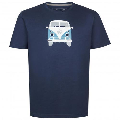 Elkline - Methusalem - T-Shirt Gr XXL blau/schwarz