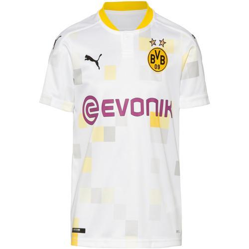 PUMA Borussia Dortmund 20-21 3rd Trikot Kinder in puma white, Größe 152