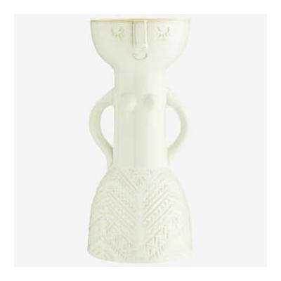 Madam Stoltz - Vase W Woman Impr...