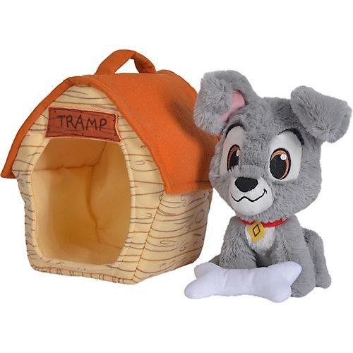 Disney Strolch mit Hundehütte, 20cm