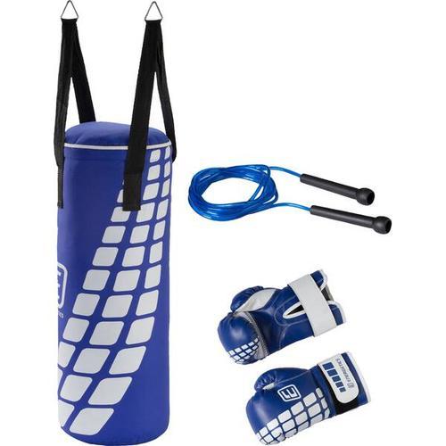 ENERGETICS Boxsack Box-Set Jr. FT, Größe - in Blau/Weiß