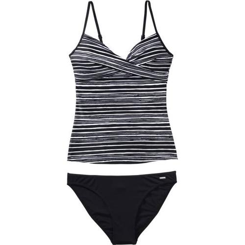 etirel Damen Bikini D-Tankini Desiree, Größe 36B/C in Black