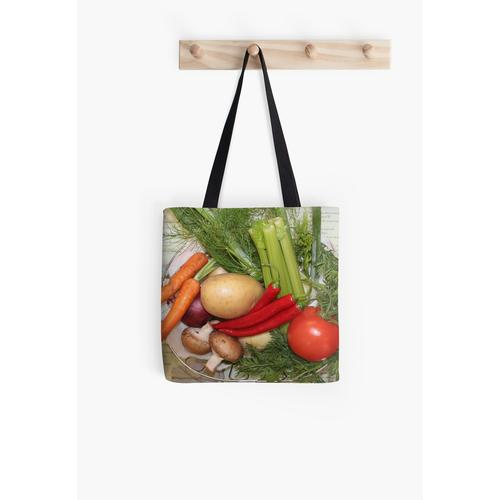 Gemüsesuppe Tasche
