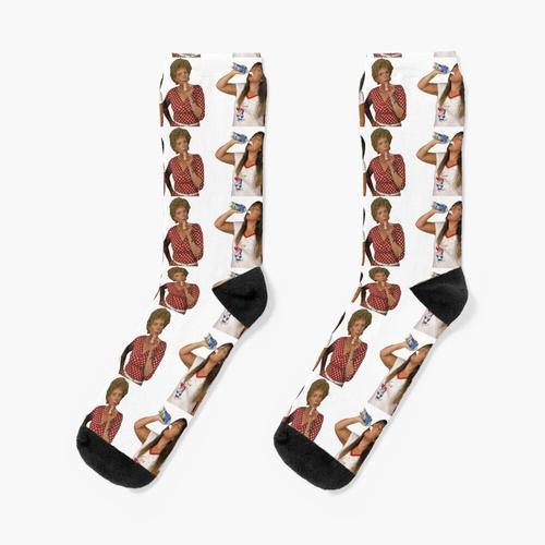 Kath und Kim: Schlagsahne Socken