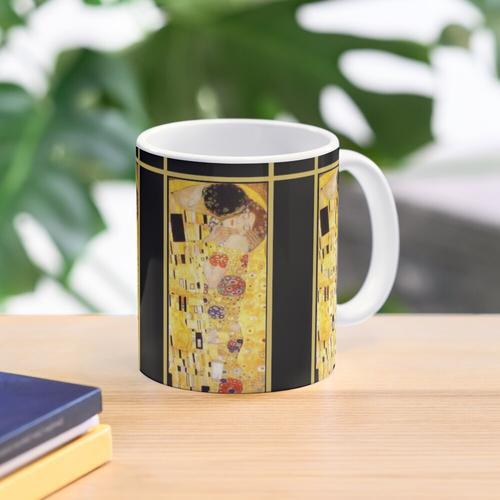 Gustav Klimt Der Kuss Tasse