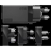 Lenovo 65W USB-C AC Travel Adapter Streamline your life with a 65W USB-C AC Travel Adapter. Changing the way you travel for business or pleasure, the Lenovo 65W USB-C AC Travel Adapter eliminates the need for multiple chargers. Power your USB-C devices any time with 4 interchangeable...