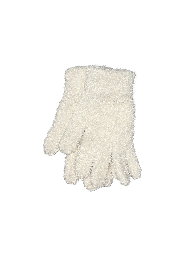 Gloves: White Solid Accessories