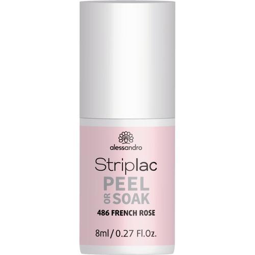 Alessandro Striplac Peel or Soak French Rose 8 ml Nagellack