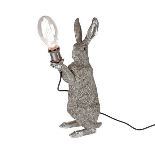 VOSS Design »Meister Lampe silber« Tischleuchte silber