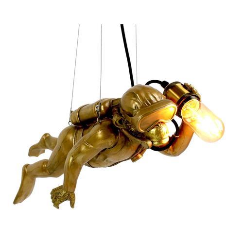 VOSS Design »Diver Dave« Deckenleuchte gold