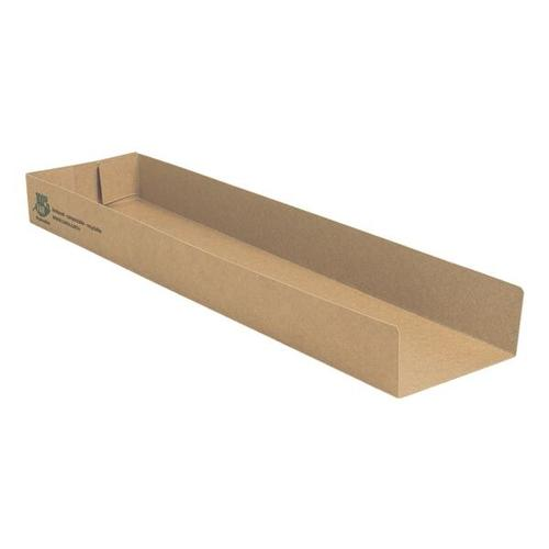 Snackschalen »pure 100% fair«, 80 Stück, Papstar, 28.5x3x7.3 cm