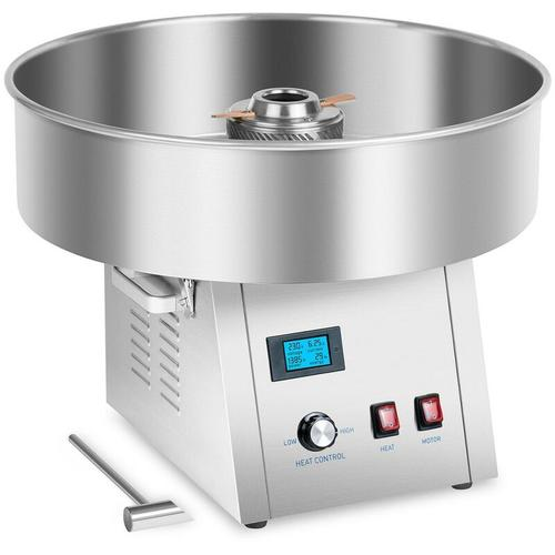 Royal Catering - Zuckerwattemaschine Zuckerwattegerät Digital Zuckerwatte Cotton Candy Maker Neu