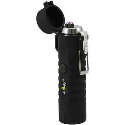 Inolight Feuerzeuge CL8, Taschenlampe schwarz Anzünder Kamin Öfenzubehör Heizen Klima