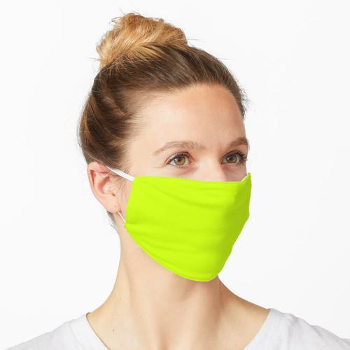 Fluoreszierendes Gelb Maske