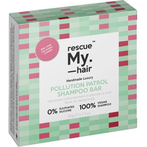rescue My. hair Polution Patrol Shampoo Bar 80 g Festes Shampoo