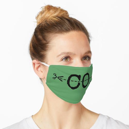 CO2 reduzieren Maske