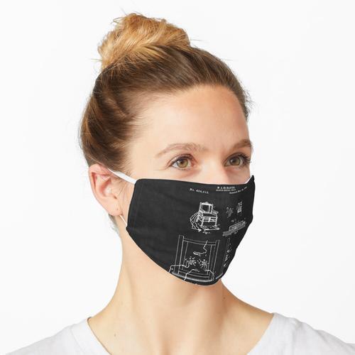Elektrischer Stuhl Patent 2 Maske